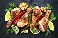 chicken and vegetables detox