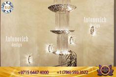Luxury Antonovich Design provides the best luxurious chandeliers design which is all made up of premium class materials and high-quality finishing.  Ideal design decisions! 📞📞 + 1 (786) 593-3522 📞📞+971 56 447 4000 #luxurydesign #luxuryinterior #chandelier #chandeliercollection #chandelierdesigns #chandeliers #interiordesignideas #decor #interiordecor #homedecorideas #interiorinspiration #decoration #luxury #aesthetic Luxury Interior, Chandeliers, Interior Inspiration, Light Bulb, Interior Decorating, Ceiling Lights, Decoration, Design, Home Decor