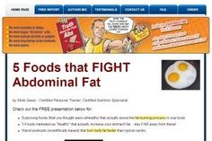 5 foods that fight Abdominal Fat