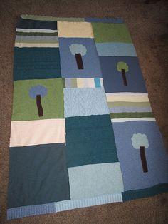 recycled sweater wool lap blanket
