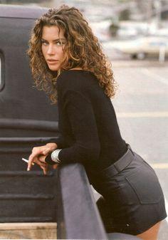 80s-90s-supermodels: Elle France, April 1991  Photographer: Tiziano Magni  Model: Carre Otis