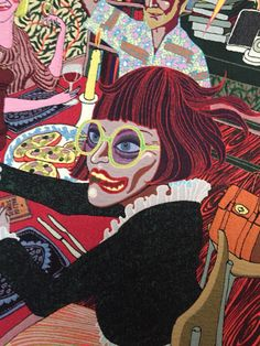 Tapestry detail by Grayson Perry Grayson Perry Art, Art Alevel, Sir Anthony, Political Art, Textiles, Identity Art, China Art, Sketchbook Inspiration, Art For Art Sake