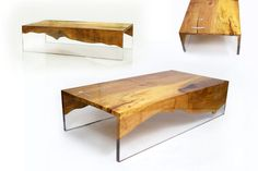 tables #furniture #table #contemporary #wood