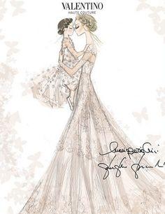 Frida Giannini marries Patrizio di Marco wearing Valentino | Harper's Bazaar
