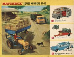 Matchbox Collector\'s Catalogue, 1968, by Wishbook, via Flickr.  I still have all of these vehicles.