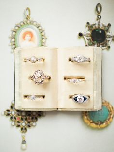 Victor Barbone Jewelry has a wide variety of Vintage Engagement Rings to suit any style! All of the rings are ethically sourced and Eco-Friendly! Shop to find your dream ring! Photo by Rachel Red Photography!