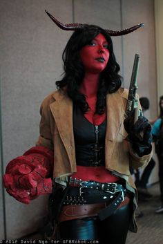 Cosplay of the day: Hellgirl