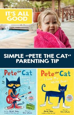 Positive parenting tip: This simple Pete the Cat tip transformed a toddler meltdown into a bonding experience.