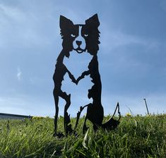 Collie Sheepdog Rusty Metal Dog Garden Art Silhouette The Effective Pictures We Offer You About unique Garden Art A quality picture can tell you many things. Animal Silhouette, Silhouette Art, Metal Garden Art, Metal Art, Large German Shepherd, Dog Garden, Metal Birds, Vegetable Garden Design, Rusty Metal