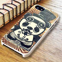 Steampunk Panda Art iPhone 6|iPhone 6S Case