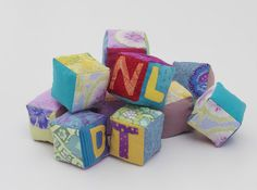 How to Make Soft Baby Blocks Keywords: sewing, quilting, baby, Toys