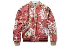 Gucci  <3 Floral Silk Bomber