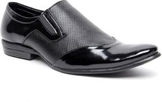 Buy Zapatoz Black Perforated Slip On Online at Best Offer Prices @ Rs. 499/- In India.