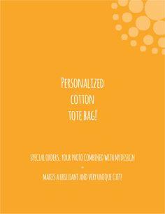 personalised tote bag by ingARTdesigns on Etsy