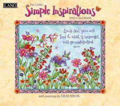 Simple Inspirations Debi Hron 2015 Lang Calendar From