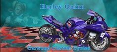Harley Quinn Custom Bike created by Garwood Custom Cycles.