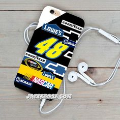 Jimmie Johnson Nascar Stickerbomb iPhone Case 4 5 6 Plus Hard Case Nascar, 6s Plus, Iphone Cases, Iphone Case, I Phone Cases