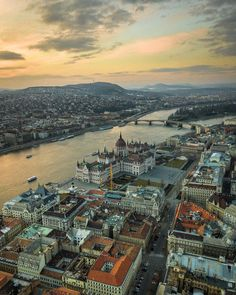 Budapest Places Around The World, Around The Worlds, Places To Travel, Places To Visit, Capital Of Hungary, Travel Goals, Outdoor Travel, Travel Pictures, Airplane View