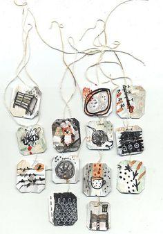 more altered tea tags |- Ines Seidel