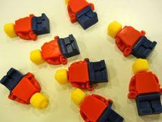 candy melts lego men