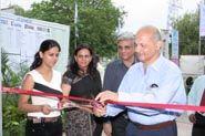 The Chief Guest Pradeep Sardana, Pepsico inaugurating the exhibition
