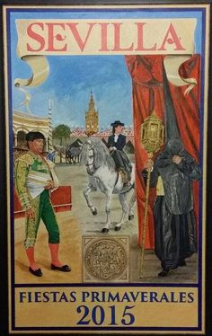 Cartel Feria de primavera de Sevilla 2015