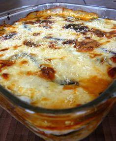 Lasagna de Berenjena - All Hair Styles Vegetable Recipes, Vegetarian Recipes, Cooking Recipes, Healthy Recipes, Organic Recipes, Casserole Recipes, I Foods, Italian Recipes, Food To Make