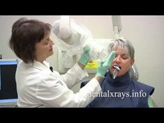 How to take dental x-rays with bisecting angle positioning - YouTube