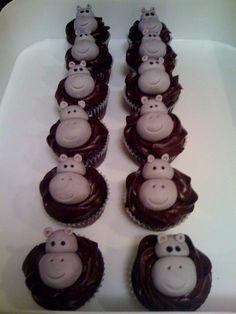 CUPCAKES BY JACKIE: Happy Hippo Preschool Bake Sale