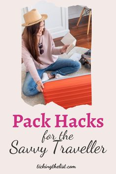 Turn yourself into a pro-packer with these travel packing hacks. Great for a staycation or that epic trip abroad you've been planning