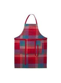 Ikea Kochschürze Schürze Weihnachen Advent Landhaus Küche Kochen Streifen Neu OV