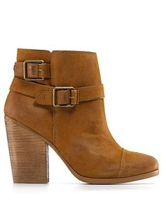 """Lucky Brand """"Laureen"""" Booties just got these at Belk for cheap!!"""