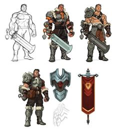 Until Dark - Character : Hercanor Early Concepts Shiro Games ©2014 by kuru