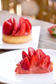 La recette des tartelettes aux fraises
