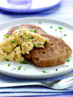 Oatcakes and Scrambled Eggs
