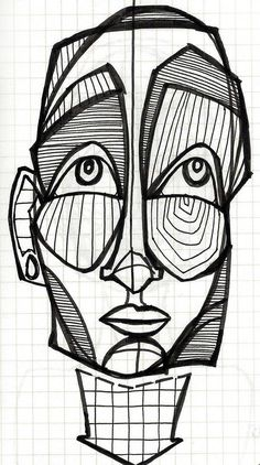 the art of miss. Arte Peculiar, Art Drawings Sketches, Abstract Drawings, Psychedelic Art, Art Sketchbook, Face Art, African Art, Doodle Art, Art Inspo