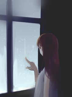 Read Fan art Lonely Girl from the story Sad Anime, Anime Love, Kawaii Anime, Aesthetic Art, Aesthetic Anime, Cover Wattpad, Bts Art, Arte Do Kawaii, Anime Scenery
