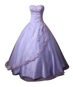 Winey Bridal Appliques Beading Lialic Ball Gown Tulle Sequined Quinceanera Dresses:Sale:$189.99