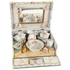 antique doll play box - Google Search
