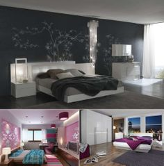 Interior Design Modern Bedroom Color Schemes Charming Teenage Colored Ideas With Grey Color Interior Decor For Your Bedroom Design Ideas Modern Master Bedroom, Master Bedroom Design, Minimalist Bedroom, White Bedroom, Contemporary Bedroom, Bedroom Sets, Dream Bedroom, Bedroom Decor, Bedroom Designs