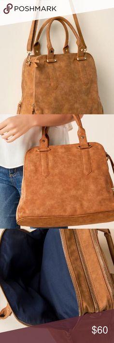 15486ec734c5 Violet Ray Satchel - Francesca s Boutique Three compartment satchel with  shoulder and crossbody strap. Color