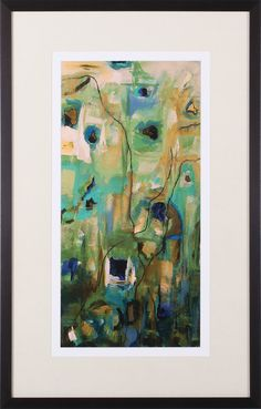 Abstract EXP I by Marabeth Quin Framed Painting Print