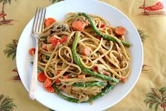 Pasta Primavera; for fast use milk and no cheese :(