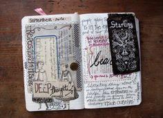 journaling - mid september 2010 by Paper Relics (Hope W. Karney), via Flickr
