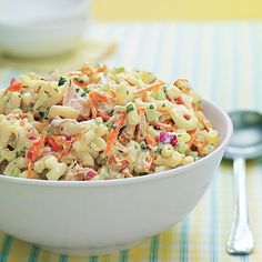 Nothing beats pasta salad for a cookout, picnic or summer dinner. Try one of these easy pasta salad recipes for your next get-together.
