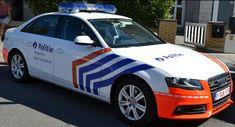 Audi A4 - Police fédérale belge - Politie - Belgique