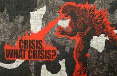 "Saatchi Art Artist Gian Luigi Delpin; Painting, ""crisis, what crisis?"" #art"