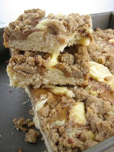 Coffee Cake featuring Cookie Butter || had this MOPS the other morning and it was super yummy... will have to try my own hand at it some time!