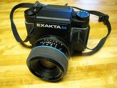 Exakta 66 Mod 1 with 80mm Xenotar MF   eBay