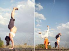 Mama yogi, dada yogi, baby yogi!